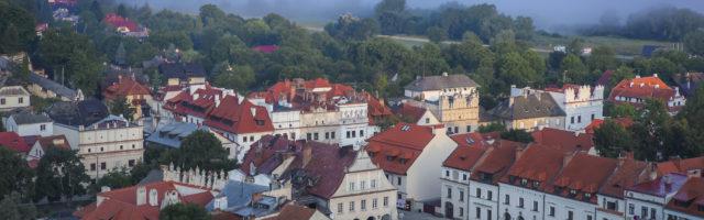 Kazimierz Dolny - Widok z Góry Trzech Krzyży
