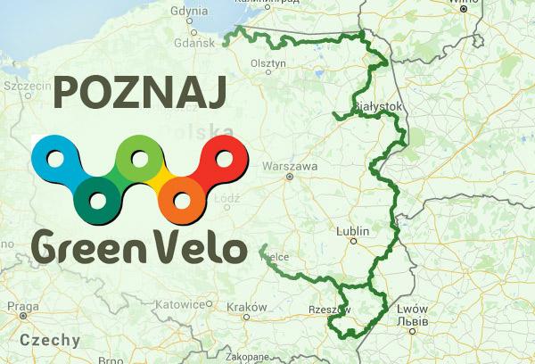 Green Velo - mapa