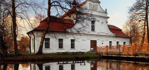 Kaplica na wodzie w Zwierzyńcu