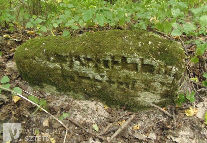 Krasnobród - żydowski cmentarz - kirkut