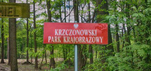 Krzczonowski Park Krajobrazowy - Tabliczka