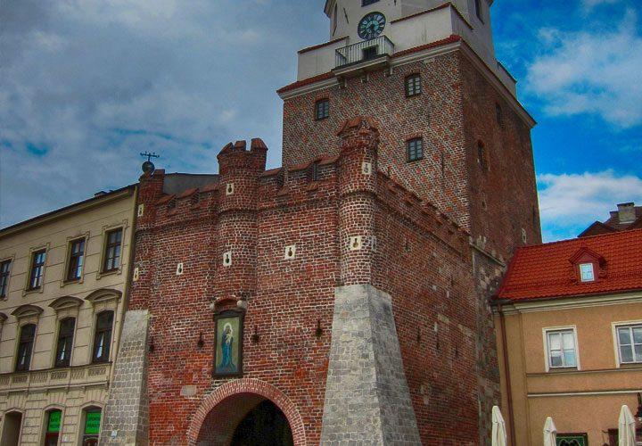 Brama krakowska Lublin
