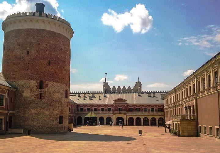 Zamek Lubelski od wewnątrz