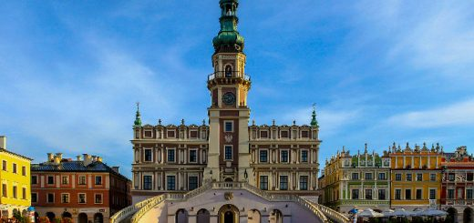 Zamość - Budynek Ratusza