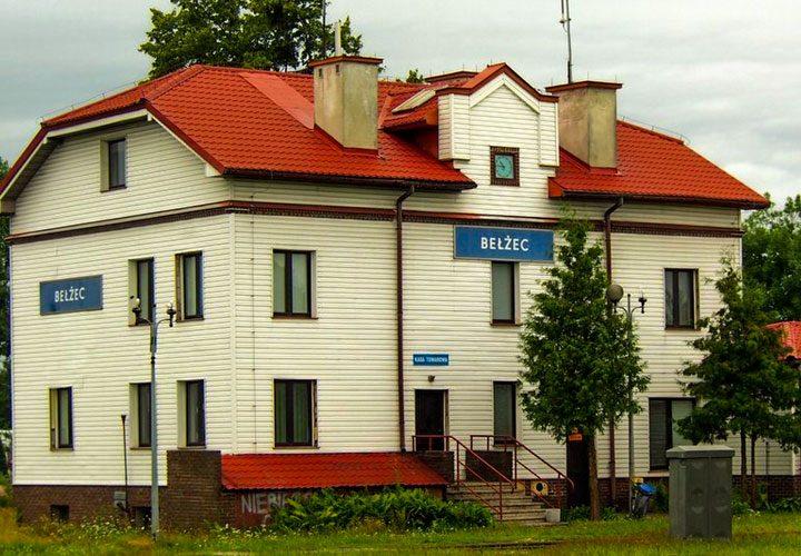 Dworzec PKP w Bełżcu
