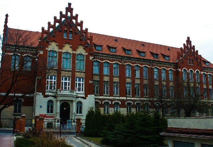 Budynek szkoły Vetterow w Lublinie