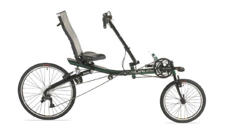 rower poziomy compact long wheel base