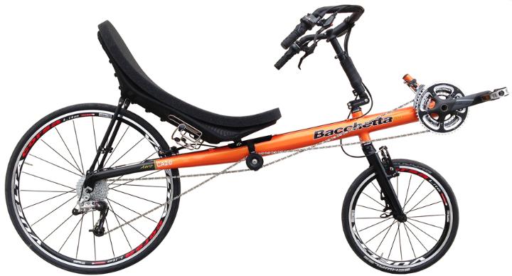 rower poziomy short wheel base